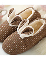 cheap -Women's Shoes Fabric Spring Fall Comfort Slippers & Flip-Flops Flat Heel for Casual Light Brown Pink Peach Coffee