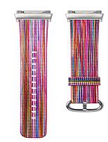 economico -Cinturino per orologio  per Fitbit ionic Fitbit Custodia con cinturino a strappo Chiusura moderna Vera pelle