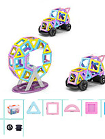 cheap -Magnetic Blocks 170 pcs Transformable Toy Round Car Girls' Boys' Gift