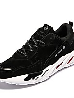 cheap -Shoes PU Spring Fall Comfort Sneakers for Athletic Casual Black Gray Yellow