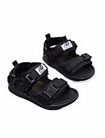 cheap -Girls' Boys' Shoes Lycra Spring Summer Comfort Casual Sandals for Casual Black Red