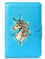 cheap -Universal Cartoon Unicorn PU Leather Stand Cover Case For 7 Inch 8 Inch 9 Inch 10 Inch Tablet PC