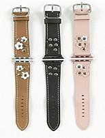 preiswerte -Uhrenarmband für Apple Watch Series 3 / 2 / 1 Apple Handschlaufe Moderne Schnalle Leder