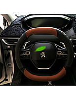 cheap -Automotive Steering Wheel Covers(Leather)For Peugeot All years 4008 5008