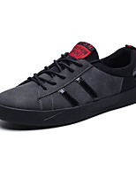 cheap -Men's Shoes Nubuck leather Spring Fall Comfort Sneakers for Casual Office & Career Black Gray
