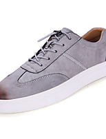 cheap -Men's Shoes PU Spring Fall Comfort Sneakers for Casual Black Gray