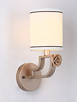 cheap -Eye Protection Contemporary Wall Lamps & Sconces For Living Room Fabric Wall Light 220V 40W