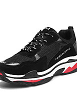 cheap -Men's Shoes Leatherette Spring Summer Comfort Sneakers for Casual Black Yellow Blue