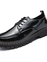 cheap -Men's Shoes PU Leather Spring Fall Formal Shoes Oxfords for Office & Career Black Burgundy