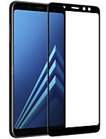 preiswerte -Displayschutzfolie Samsung Galaxy für A8+ 2018 Hartglas 1 Stück Bildschirmschutz für das ganze Gerät 3D abgerundete Ecken Anti-Reflex