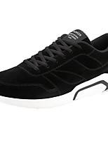 cheap -Men's Shoes PU Nubuck leather Spring Fall Comfort Sneakers for Casual Black Gray Red