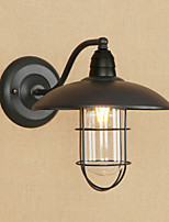 cheap -Anti-Glare Mini Style Retro/Vintage Country Traditional/Classic Wall Sconces For Study Room/Office Shops/Cafes Metal Wall Light 220-240V