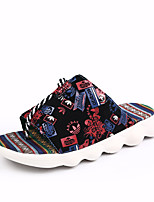 cheap -Men's Shoes PU Spring Summer Comfort Slippers & Flip-Flops for Casual Black Red Blue