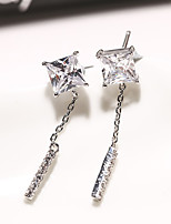 cheap -Women's Stud Earrings Rhinestone Basic Rhinestone Jewelry For Wedding Party