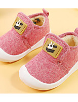 cheap -Baby Shoes Fabric Spring Fall Comfort First Walkers Flats for Casual Blue Red Gray