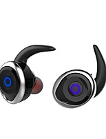 cheap -T1 In Ear Wireless Headphones Piezoelectricity Plastic Driving Earphone Mini with Microphone Headset