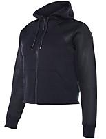 cheap -Women's Running T-Shirt Long Sleeves Quick Dry Sweatshirt for Running/Jogging Cotton Loose Grey Blue Black XXL XL L M S