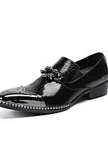 Недорогие -Муж. обувь Натуральная кожа Наппа Leather Весна Осень Удобная обувь Оригинальная обувь Армейские ботинки Формальная обувь Мокасины и