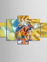 preiswerte -Leinwand-Set Modern,Fünf Panele Leinwand Horizontal Druck Wand Dekoration Haus Dekoration
