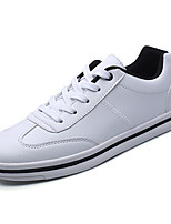 cheap -Men's Shoes Rubber Spring Fall Comfort Sneakers for Outdoor White Black/White White/Green