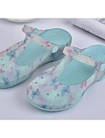 economico -Per donna Scarpe TPU Primavera Autunno Comoda Pantofole e infradito Basso per Casual Viola chiaro Rosa Chiaro Verde Chiaro