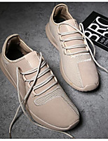 cheap -Men's Shoes Tulle Spring Fall Comfort Sneakers for Casual Gray Black Gold