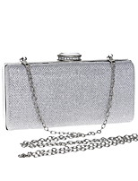 cheap -Women's Ladies' Bags Polyester Evening Bag Crystal Detailing for Event/Party Formal All Season Silver Gold