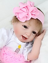 cheap -NPK DOLL Reborn Doll Classic Baby 55cm Vinyl lifelike Cute Child Safe Parent-Child Interaction Exquisite Lovely Non Toxic All