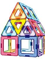 preiswerte -Magnetische Bauklötze Spielzeuge Klassisch Transformierbar Eltern-Kind-Interaktion Weicher Kunststoff 46 Stücke