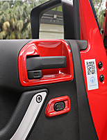 cheap -Automotive Indoor Door Bowl DIY Car Interiors For Jeep 2011 2012 2013 2014 2015 2016 2017 Wrangler Plastic