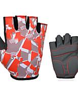 Недорогие -Спортивные перчатки Спортивные перчатки Перчатки для велосипедистов Пригодно для носки Дышащий Нескользящий Анти-шоковая защита Без