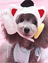 abordables -Chat Chien Bandanas & Chapeaux Vêtements pour Chien Animaux Nouvel An Mosaïque Costume Pour les animaux domestiques