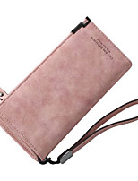 cheap -Women Bags PU Clutch Zipper for Casual All Season Fuchsia Gray Blushing Pink Black Blue