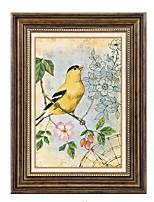 baratos -Pintura de Óleo Arte de Parede,Poliestireno Material com frame For Decoração para casa Arte Emoldurada Sala de Jantar