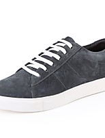 cheap -Shoes Pigskin Leather Spring Fall Driving Shoes Comfort Sneakers for Casual Office & Career Black Gray