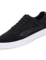 cheap -Shoes Pigskin Spring Fall Light Soles Sneakers for Casual Black Gray Blue