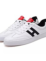 cheap -Men's Shoes PU Spring Fall Comfort Sneakers Athletic Shoes for Casual Pink/White Black/White White/Green