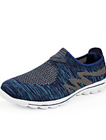 cheap -Shoes Knit Spring Summer Comfort Sneakers for Casual Outdoor Black Gray Blue
