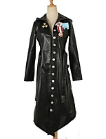 cheap -Inspired by PlayerUnknown's Battlegrounds Merlin Video Game Cosplay Costumes Cosplay Suits Solid Long Sleeves Coat