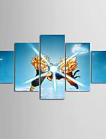 abordables -Juego de Lienzo Modern,Cinco Paneles Lienzos Horizontal Estampado Decoración de pared Decoración hogareña