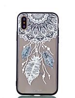 abordables -Coque Pour Apple iPhone X iPhone 8 Plus Transparente Motif Coque Arrière Attrapeur de rêves Dur Acrylique pour iPhone X iPhone 8 Plus