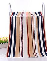 abordables -serviette de bain de style frais, serviette en tricot poly / coton à rayures de qualité supérieure