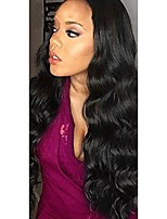 cheap -Human Hair Lace Front Wig Wig Other Body Wave With Baby Hair 120% Density Natural Hairline Women's Short / Medium Length / Long Human Hair Lace Wig