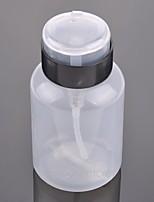 cheap -Hot Sale 200ML Empty Pump Dispenser Nail Polish Liquid Alcohol Remover Cleaner Bottle Art Equipment