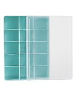 Недорогие -пластиковая прямоугольная многофункциональная домашняя организация, 1 шт.
