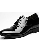 cheap -Men's Shoes Leather Spring Fall Formal Shoes Oxfords for Office & Career Party & Evening Black
