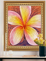 cheap -Botanical Oil Painting Wall Art,Aluminum Alloy Material With Frame For Home Decoration Frame Art Indoors