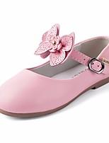 Недорогие -Девочки обувь Искусственное волокно Весна Осень Удобная обувь Детская праздничная обувь На плокой подошве для Повседневные Красный Розовый