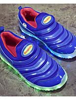 Недорогие -Девочки Мальчики обувь Тюль Весна Осень Удобная обувь Мокасины и Свитер для Повседневные Желтый Красный Синий