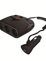 Недорогие -usmei c9 три в одном автомобиле порт сигареты двойной USB двойной тип c порт 3.1a автомобильное зарядное устройство с цифровым дисплеем